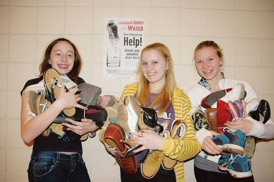 Shoe drive supports youth mission to Nicaragua